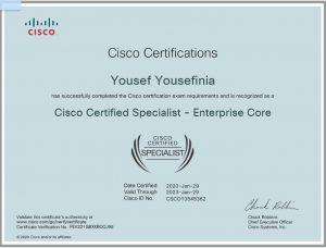 CCNP-Enterprise Core